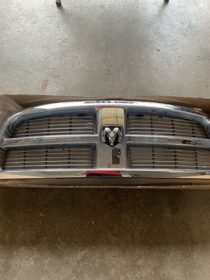 2010 Dodge Ram 1500 original ABS chrome grille for Sale in Bloomington, IL