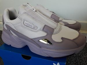 Brand New Adidas Falcon Zip Shoes Women's Size 8 for Sale in Colton, CA