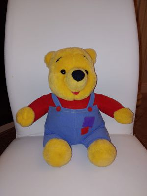 Disney winnie the pooh bear talking stuffed animal for Sale in Kissimmee, FL