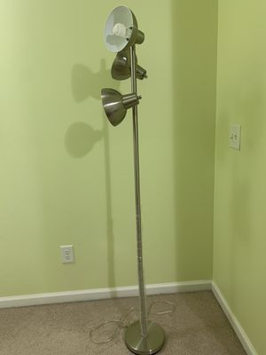 Steel lamp light for Sale in Alpharetta, GA