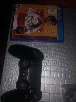 Ps4 Madden 20 brand new and controller for Sale in Hanford, CA