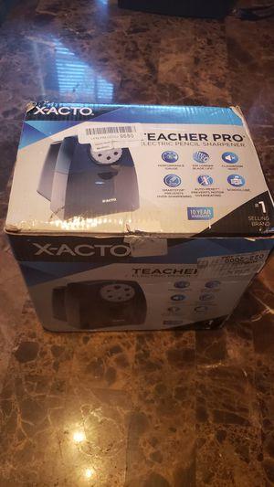 X-ACTO Teacher Pro Electric Pencil Sharpener for Sale in Harlingen, TX