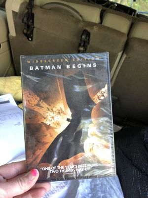 Batman Begins Never Opened widescreen edition dvd for Sale in Parkville, MD