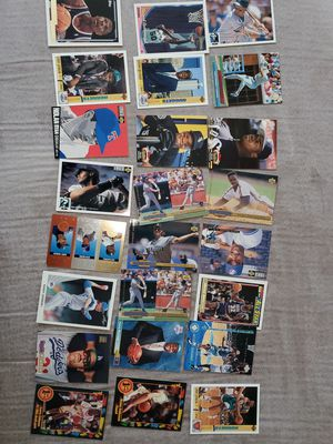 Baseball cards with case for Sale in North Las Vegas, NV