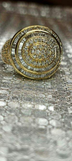 Diamond gold men pinky ring new VISIT SHOWROOM for Sale in Atlanta, GA
