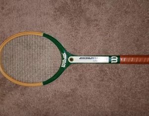 Vintage Wilson Tennis Racket Stan Smith Championship 1960s for Sale in Hanover, VA