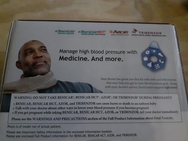Blood Preassure Kit. RIGHT FIT BLOOD PREASSURE PROGRAMER KIT