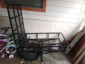 Scooter carrier will h ramp and hitch. for Sale in Ruskin, FL