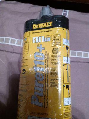 Dewalt epoxy adhesive for Sale in Dallas, TX
