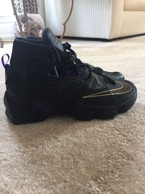 Nike Lebron 13 XIII Basketball Shoes New James Sz 11 Pot Of Gold Fit For A King for Sale in Ashburn, VA