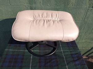 Beige Stool Ottoman for Sale in St. Louis, MO