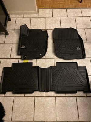 TOYOTA RAV4 ADVENTURE BLACK RUBBER ALL WEATHER FLOOR MATS, FITS 2013-2018 for Sale in Garden Grove, CA