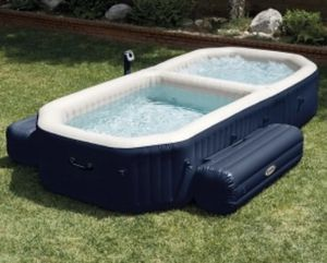 "Intex Purespa Inflatable Bubble Hot Tub and Pool 152""L x 70""W x 28""H for Sale in Woodcliff Lake, NJ"