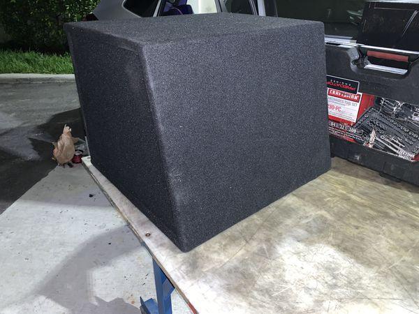 "Brand New 12"" Inch Subwoofer BOX ONLY Sub Amplifier Amplificador Skar Audio Car"