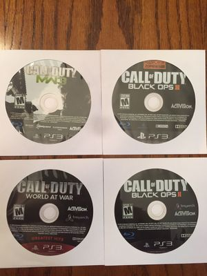 4 Call of Duty ps3 games for Sale in Crestview, FL