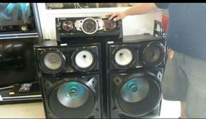 DJ stereo system for Sale in Ruskin, FL