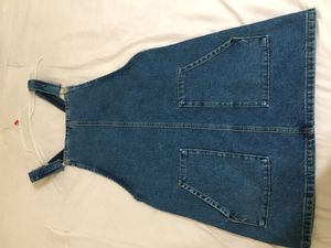 Jean overall dress for Sale in South Gate, CA