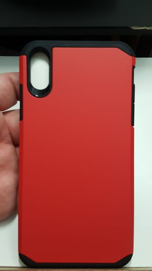 """Case for iphone xs max 6.5"""" color red-black new 7firm now ship out of the town for Sale in Phoenix, AZ"""