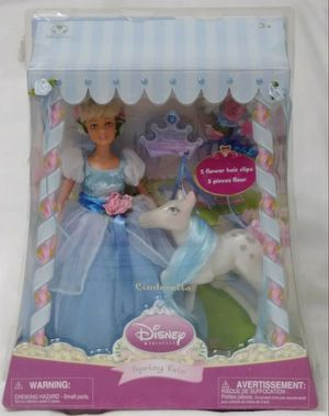 Disney Store Exclusive Spring Fair Princess CINDERELLA Doll Pony Set Playset for Sale in Homestead, FL