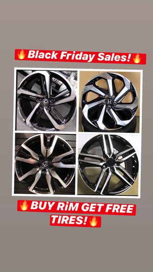 🔥🔥🔥Black Friday SALES! BUY Rims get FREE Tires🔥🔥🔥(only 50 down payment / no credit needed ) for Sale in Silver Spring, MD
