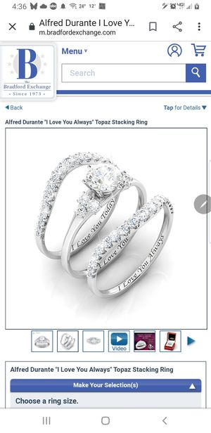 Bradford exchange ring for Sale in Fargo, ND