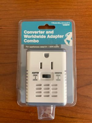 TravelSmart Conair Converter and Worldwide Adapter Combo NEW for Sale in Newport, Kentucky
