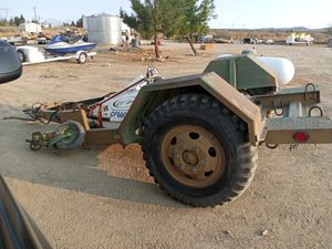 Army trailer everything works heavy duty for Sale in Phelan, CA