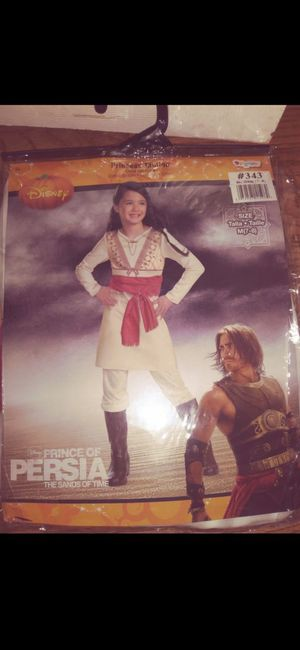 NEW! DISNEY/ PRINCE OF PERSIA / THE SANDS OF TIME ( Includes: Tunic with attached Sash and Pants) Size M ( 7-8 ) for Sale in Covina, CA