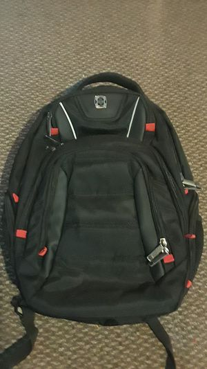 Swissdigital Laptop Backpack, Busniess Travel Polyester Backpack with USBCharging (NEVER USED) for Sale in Raymond, WA