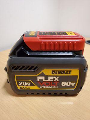 DeWalt FlexVolt 60V MAX 6Ah Battery Pack for Sale in Fontana, CA