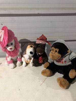 Collectible stuffed animals. All for $7 for Sale in Pasadena, TX