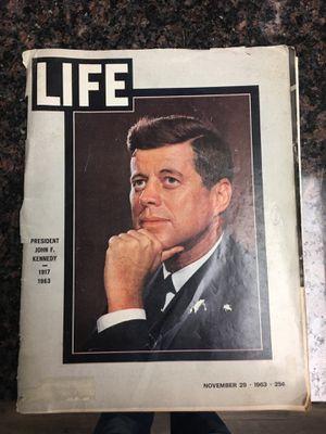 Life magazine 1963 John F Kennedy assassination for Sale in Clinton, IA