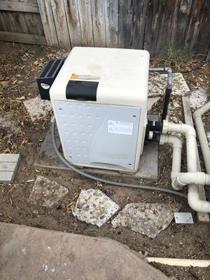 Pentair pool and spa water heater for Sale in Norco, CA