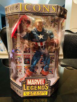 Marvel Legends Icons Captain America unmasked variant for Sale in Tamarac,  FL