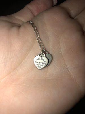 Tiffany + Co . Mini heart necklace for Sale in Austin, TX