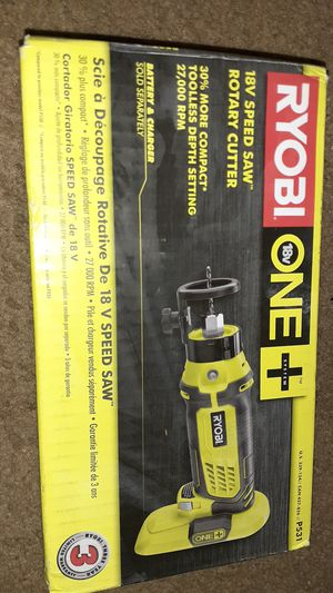 Ryobi One 18V Speed Saw Rotary Cutter for Sale in Baltimore, MD
