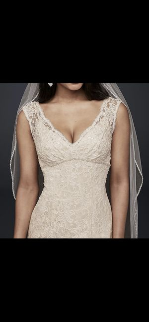 David's Bridal Lace Wedding Dress for Sale in Salinas, CA