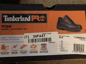 Timberland PRO Titan Oxford/Alloy Safety Toe for Sale in Monrovia, CA
