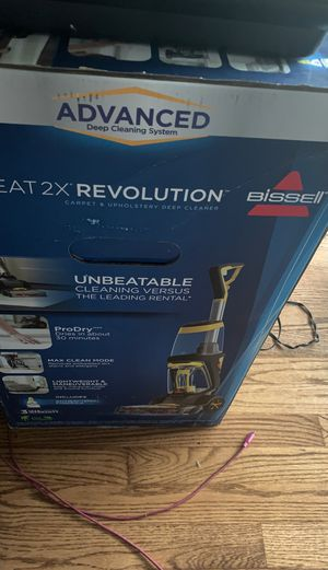 Bissell Proheat 2x Revolution Deep Cleaner for Sale in Chicago, IL