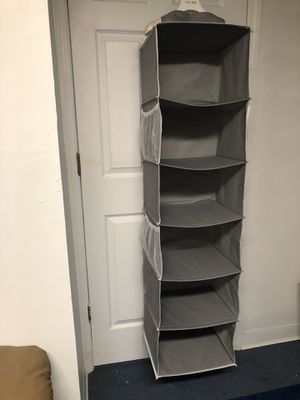 Closet organizer hanging storage for Sale in Old Bridge Township, NJ