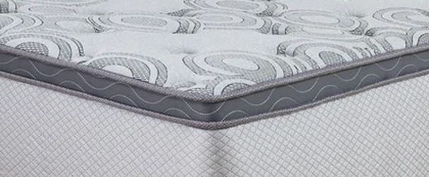 "Augusta 12"" Euro Top King Mattress 