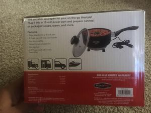 12 Volt Portable Saucepan Road Pro for Sale in Brandon, FL