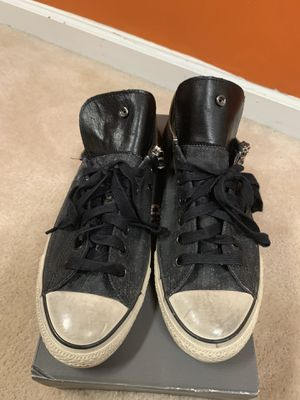 """All Star """"Studded"""" Converse - John Varvatos size 10.5 (real fit size 12) for Sale in Douglasville, GA"""