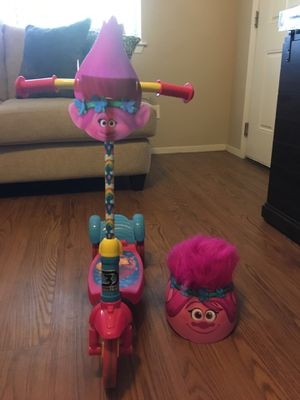 Trolls Scooter and Helmet for Sale in Austin, TX