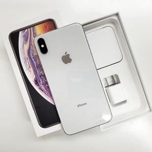 iPhone Xs Max Unlocked To Any Carrier SILVER 512GB for Sale in Florissant, MO