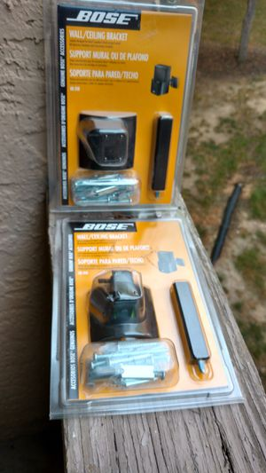 Bose u b - 20 b set of two new wall and ceiling brackets for Sale in Columbus, OH
