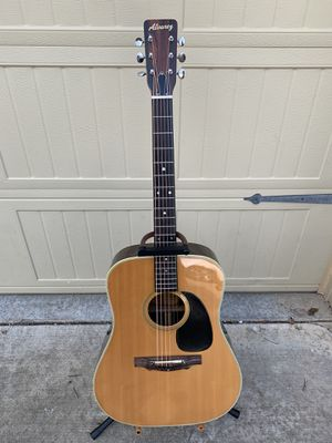 Early 1970's Alvarez 5048 Guitar with Case for Sale in Catoosa, OK