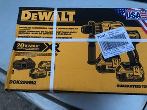 DeWalt hammer drill and impact drill for Sale in Tampa, FL