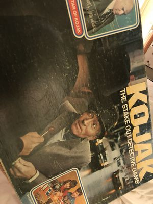1970s vintage KOJAK game. 14.00. 212 North MaIn street. 😀Johanna. Antique vintage collectibles. Games/toys for Sale in Austin, TX