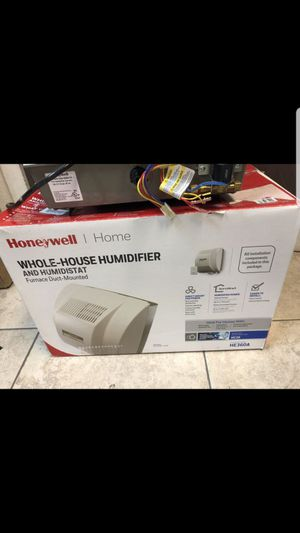 Whole house humidifier honeywells for Sale in Las Vegas, NV